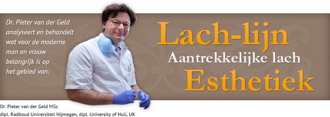 Wetenschappelijk onderzoek naar de lach-lijn door Dr. Pieter van der Geld MSc
